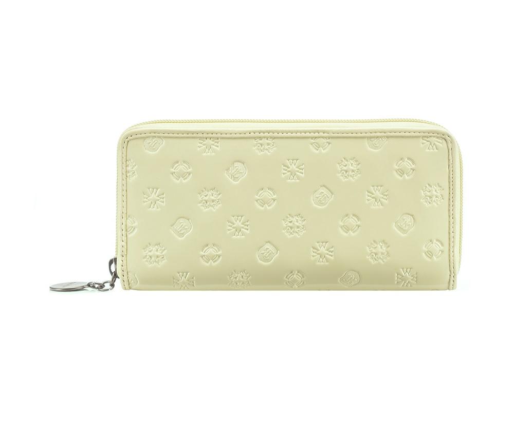 Кожаный кошелек Wittchen 34-1-393-K, слоновая кость