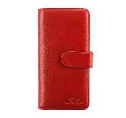 Portfel, czerwony, 21-1-028-3, Zdjęcie 1