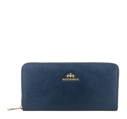 Кожаный кошелек Wittchen 13-1-482-NN, синий 13-1-482-NN