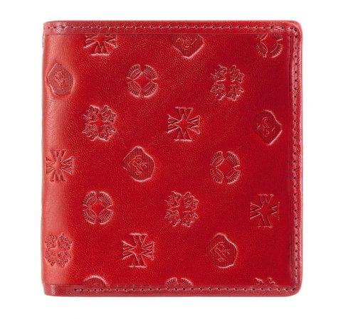 Portfel, czerwony, 33-1-065-3S, Zdjęcie 1