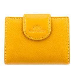 Кожаный кошелек Wittchen 21-1-362-Y, желтый 21-1-362-Y