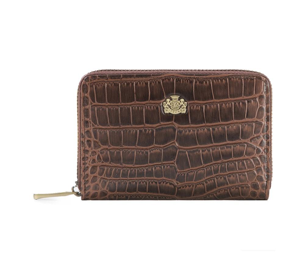 Кожаный кошелек Wittchen 15-1-341-4, коричневый