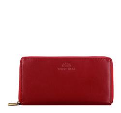 Portfel, czerwony, 14-1-057-91, Zdjęcie 1