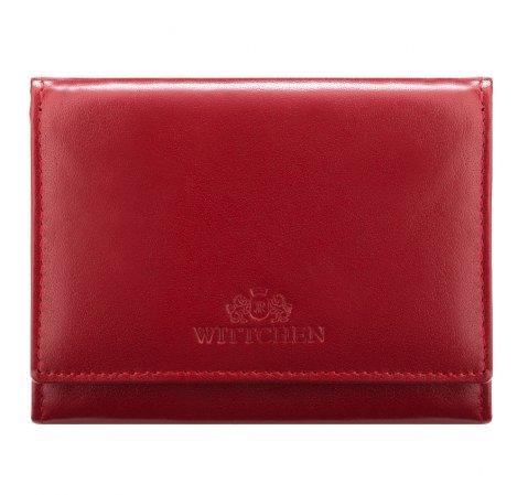 Portfel, czerwony, 14-1-070-91, Zdjęcie 1