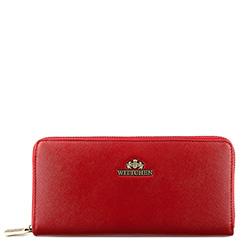 Portfel, czerwony, 13-1-482-33, Zdjęcie 1