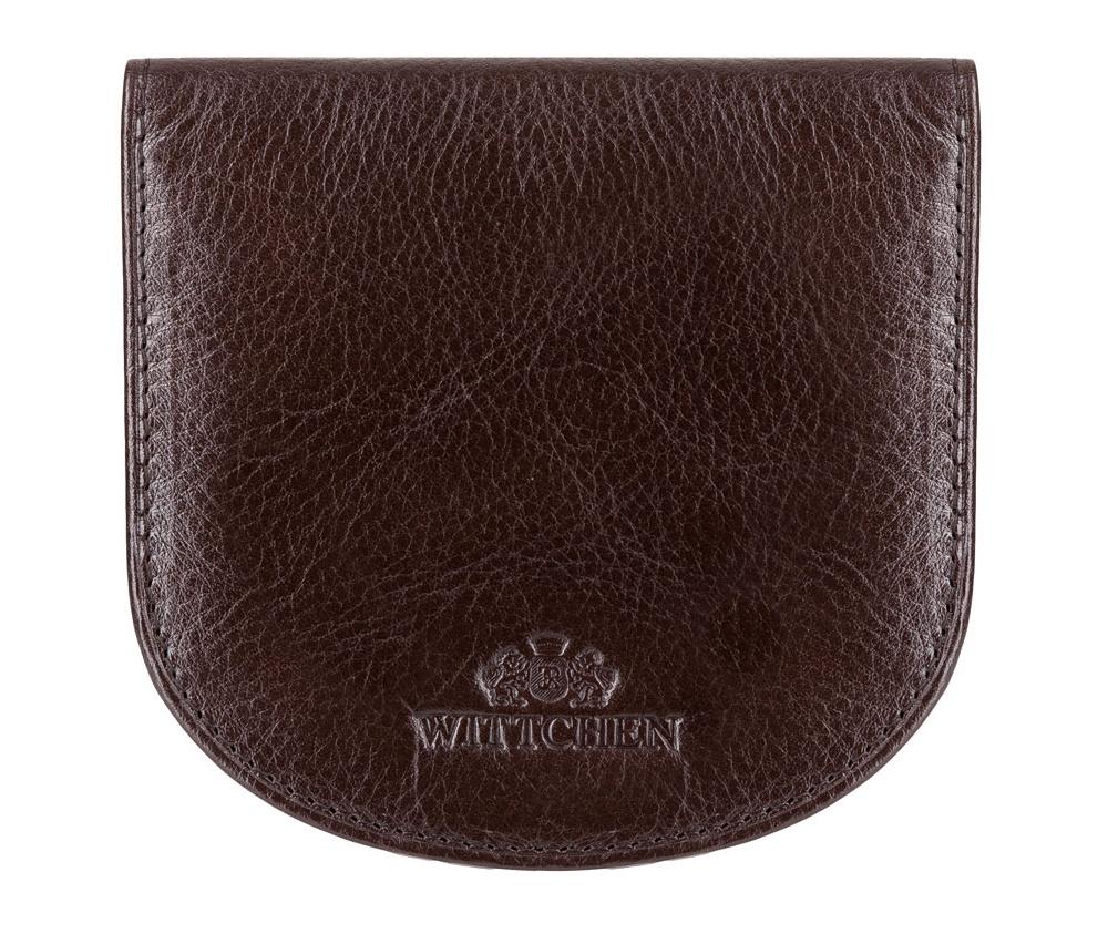 Кожаный кошелек Wittchen 21-1-043-4, коричневыйКомпактный Кошелек универсальный из коллекции Italy, ручной работы  из прочной натуральной кожи. Логотип – герб WITTCHEN тисненый на коже. Модель предназначена для людей, которые ценят функциональность и стиль casual.  Особенности модели:    отделение для мелочи ;  2 отделения для купюр;  2 кармана.<br><br>секс: унисекс<br>Цвет: коричневый<br>материал:: Натуральная кожа<br>высота (см):: 10<br>ширина (см):: 9