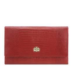 Portfel, czerwony, 15-1-210-3J, Zdjęcie 1