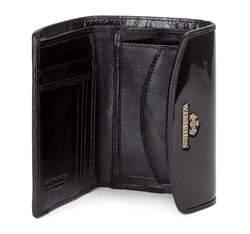 Damski portfel ze skóry elegancki, czarny, 25-1-045-1, Zdjęcie 1