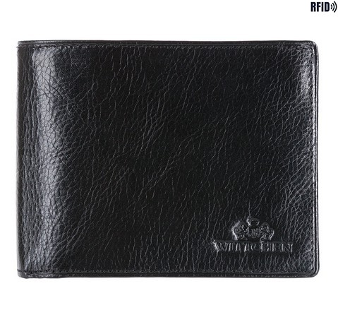Portfel, czarny, 21-1-039-L1, Zdjęcie 1