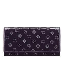 Кожаный кошелек Wittchen 34-1-052-VS, фиолетовый 34-1-052-VS