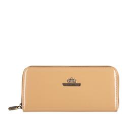 Кожаный кошелек Wittchen 25-1-393-C, бежевый 25-1-393-C