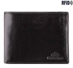 Кожаный кошелек Wittchen 21-1-040-L1, черный 21-1-040-L1