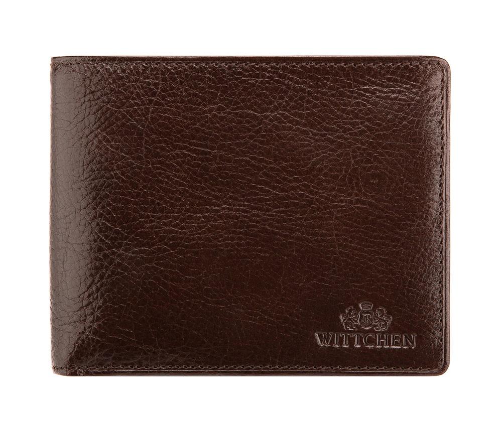 2e24bfc0554e38 Męski średni czarny portfel skórzany | WITTCHEN | 21-1-040