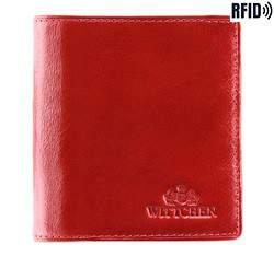 Portfel, czerwony, 21-1-065-L3, Zdjęcie 1