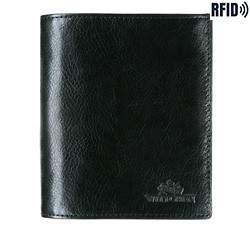 Кожаный кошелек Wittchen 21-1-139-L1, черный 21-1-139-L1