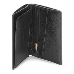 Portfel, czarny, 03-1-020-1, Zdjęcie 1