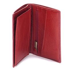Portfel, czerwony, 03-1-020-3, Zdjęcie 1