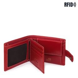 Portfel, czerwony, 14-1-115-L3, Zdjęcie 1