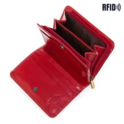 Portfel, czerwony, 14-1-120-L3, Zdjęcie 1