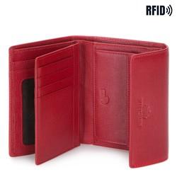 Portfel, czerwony, 14-1S-044-3, Zdjęcie 1