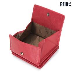 Portfel, czerwony, 14-1S-046-3, Zdjęcie 1