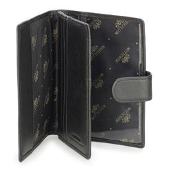 Męski portfel skórzany klasyczny, czarny, 20-1-094-1, Zdjęcie 1