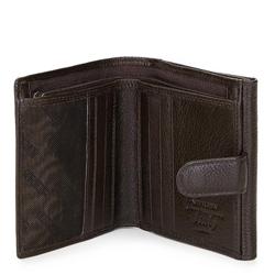 Męski portfel skórzany klasyczny, brązowy, 21-1-010-44L, Zdjęcie 1