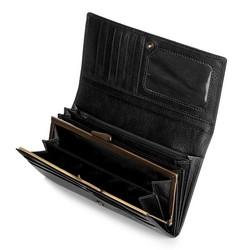 Portfel, czarny, 21-1-075-10, Zdjęcie 1