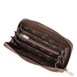 Damski portfel ze skóry retro, brązowy, 21-1-104-4, Zdjęcie 1
