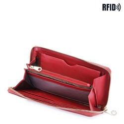 Portfel, czerwony, 26-1-430-3, Zdjęcie 1