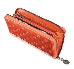 Portfel, pomarańczowy, 34-1-482-6S, Zdjęcie 1