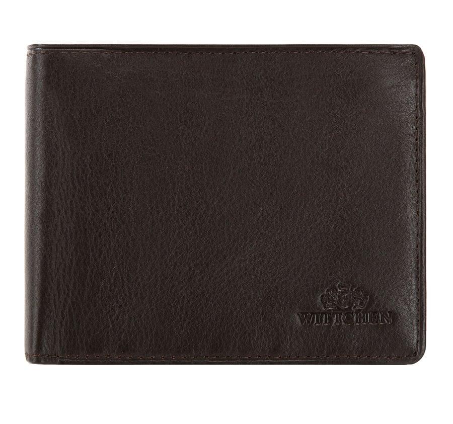 Męski portfel skórzany z dużą ilością przegródek