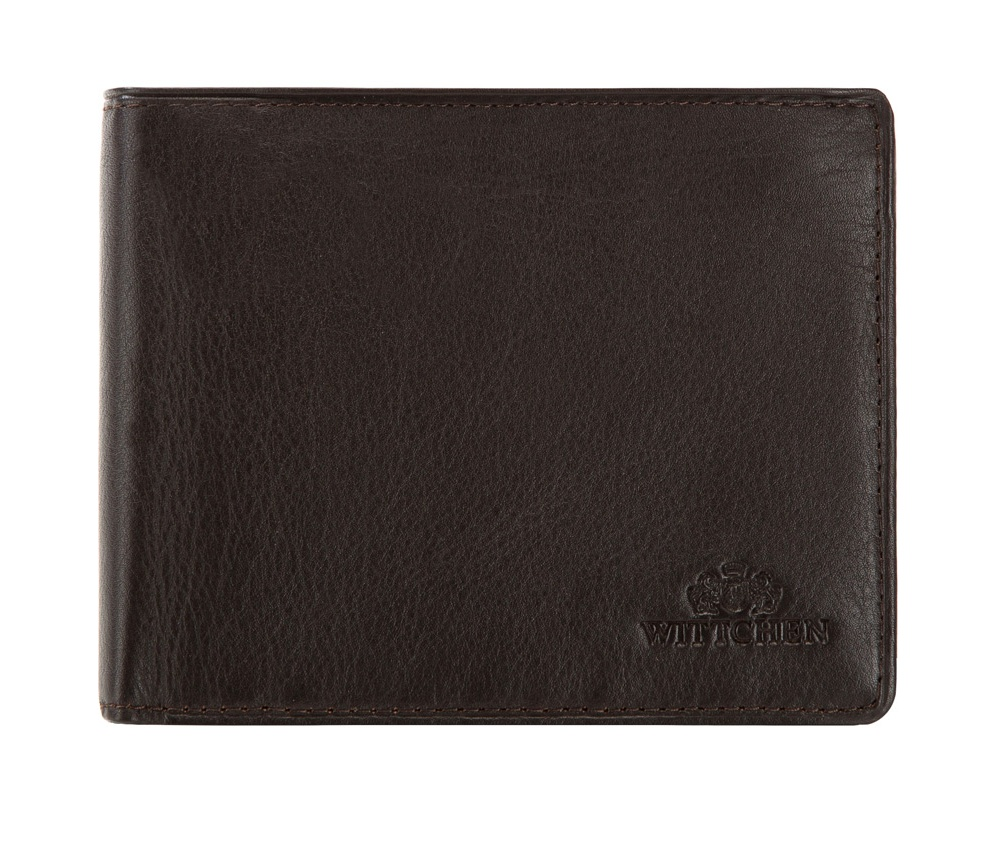 Кожаный кошелек Wittchen 02-1-262-4, темно-коричневый