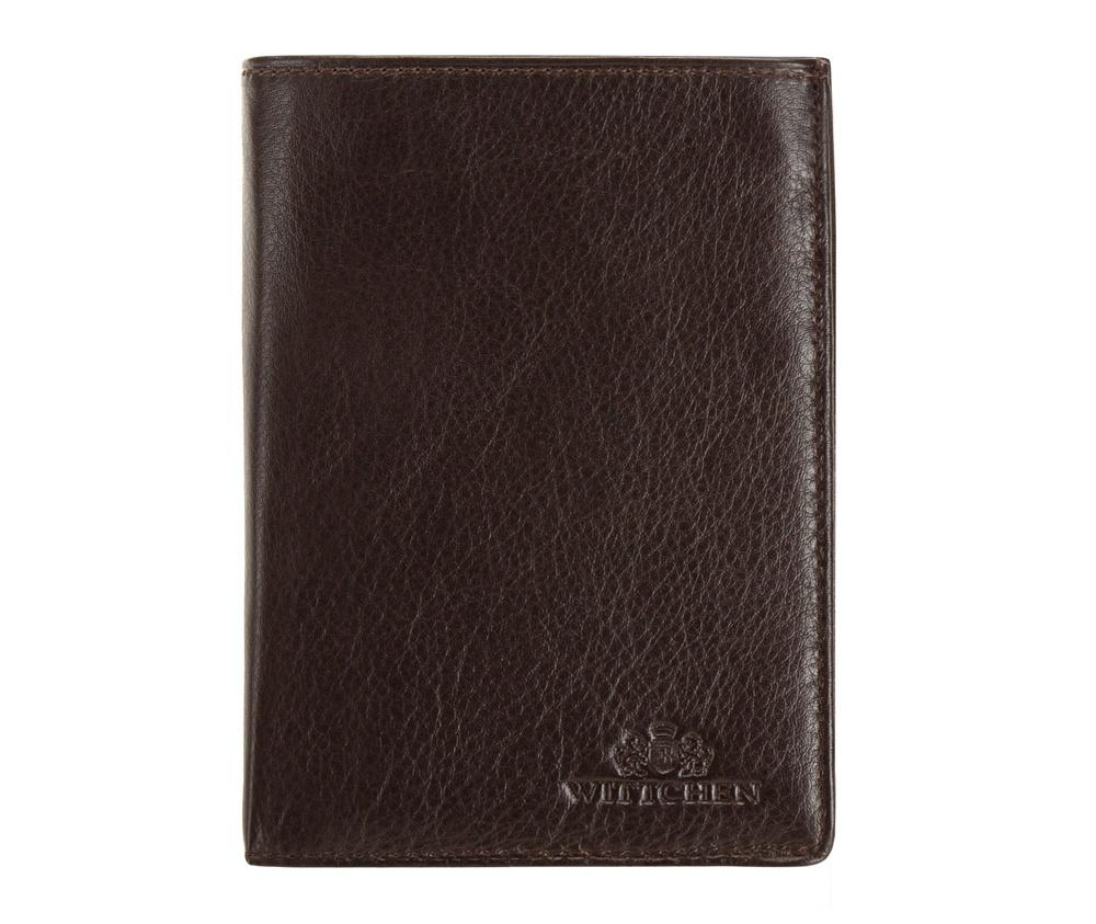 Кожаный кошелек Wittchen 02-1-265-4, темно-коричневый