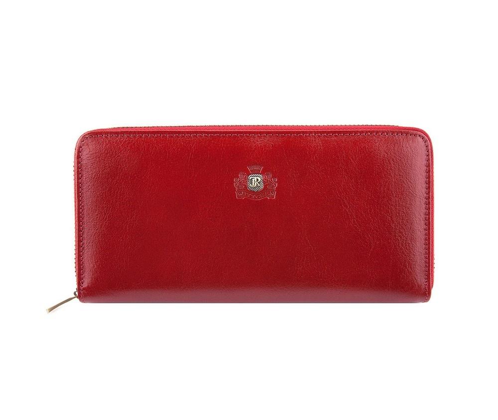 КошелёкБольшой женский кошелёк из коллекции Roma, изготовлен из натуральной телячьей кожи высочайшего качества. Фирменный знак выполнен в виде значка цвета старого золота. Упакован в фирменную коробку с логотипом WITTCHEN. Модель имеет стильный и функциональный дизайн.&#13;<br> &#13;<br> &#13;<br> Особенности модели:&#13;<br> &#13;<br> &#13;<br> отделение для мелочи на молнии;&#13;<br> 3 отделения для купюр;&#13;<br> 8 слотов для кредитных карт;&#13;<br> 2 кармана.<br><br>секс: женщина<br>материал:: натуральная кожа<br>высота (см):: 10<br>ширина (см):: 20