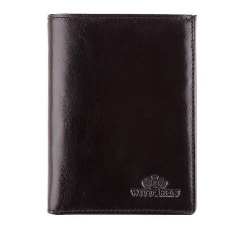 Męski portfel skórzany praktyczny, czarny, 21-1-265-1, Zdjęcie 1