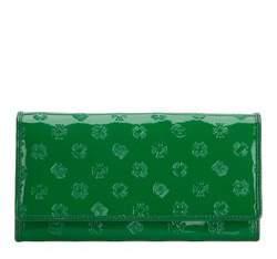 Portfel, zielony, 34-1-052-0S, Zdjęcie 1