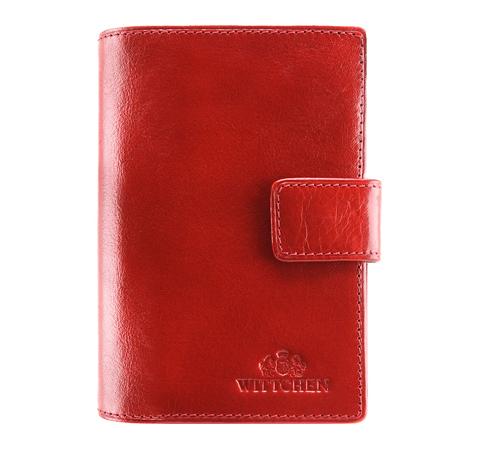 Portfel, czerwony, 21-1-291-3, Zdjęcie 1
