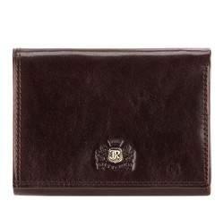 Męski portfel ze skóry poziomy, Brązowy, 39-1-071-3, Zdjęcie 1
