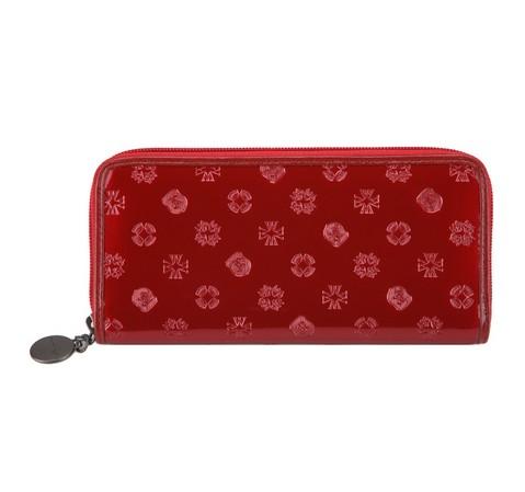 Portfel, czerwony, 34-1-393-3S, Zdjęcie 1