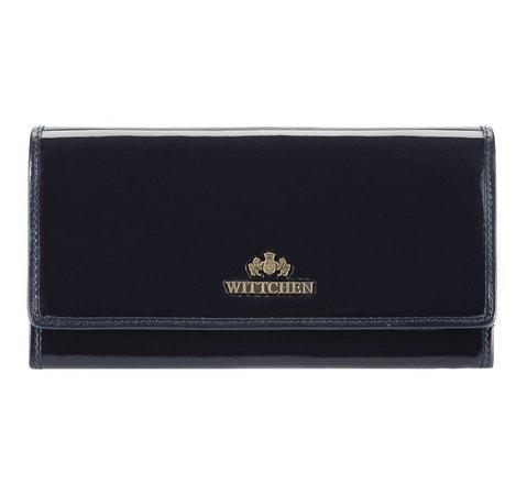 b90dd6528dcf4 Duży portfel damski lakierowany mieszczący dowód rejestracyjny ...