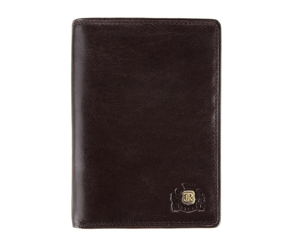 КошелекМужской кошелёк большого размера из коллекцииDa Vinci, изготовлен из итальянской кожи высочайшего качества двойной выделки. Фирменный знак выполнен в виде металлического значка цвета старого золота. Упакован в фирменную коробку с логотипом WITTCHEN. Незаменимый аксессуар для делового человека.&#13;<br>&#13;<br>Особенности модели:&#13;<br>&#13;<br>    отделение для купюр&#13;<br>    6 карманов, в том числе 2 прозрачных&#13;<br>    6 слотов для кредитных карт&#13;<br>    ъемный вкладыш для документов разных размеров&#13;<br>    отделение для автодокументов.<br><br>секс: мужчина<br>Цвет: коричневый<br>материал:: натуральная кожа<br>высота (см):: 14<br>ширина (см):: 10