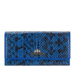 Portfel, niebiesko - czarny, 19-1-052-NN, Zdjęcie 1