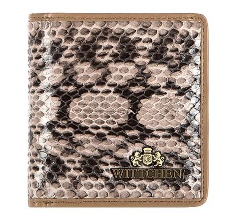 Portfel, beżowo - brązowy, 19-1-065-B, Zdjęcie 1