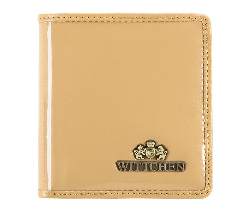 e6f1797f7a495 Mały damski portfel lakierowany