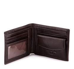 Męski portfel z herbem średni, brązowy, 39-1-173-3, Zdjęcie 1
