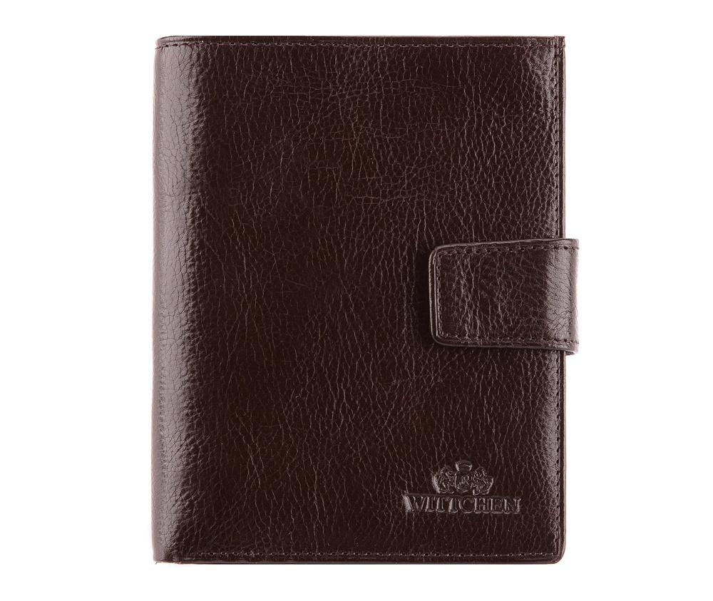 КошелекМужской кошелек из коллекции Italy. Сделан из мягкой телячьей кожи. Логотип- герб WITTCHEN тисненый на коже. Кошелек имеет подарочную упаковку- с фирменным логотипом WITTCHEN.&#13;Кошелек состоит: &#13;&#13;    отделение для монет,&#13;    6 отделений для кредитных карт,одно прозрачное,&#13;    6 отделений,два из них прозрачные,&#13;    отделение для документов и паспорта.<br><br>секс: мужчина<br>Цвет: коричневый<br>материал:: натуральная кожа<br>высота (см):: 14<br>ширина (см):: 11