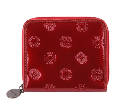 Portfel, czerwony, 34-1-401-3L, Zdjęcie 1