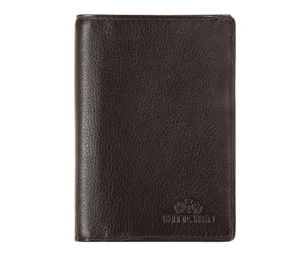 Кожаный кошелек Wittchen 02-1-020-4, темно-коричневый