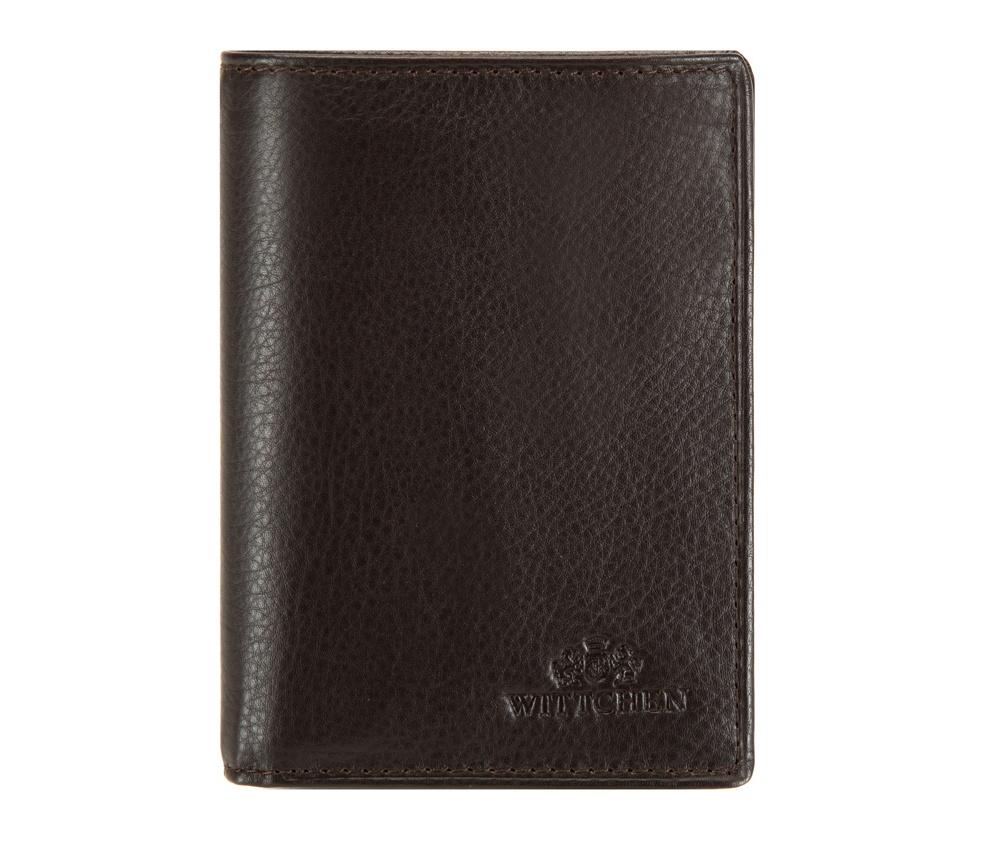 Кожаный кошелек Wittchen 02-1-023-4, темно-коричневый